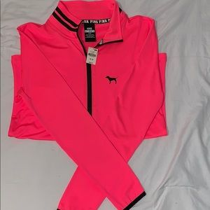 New PINK Athletic Quarter Zip